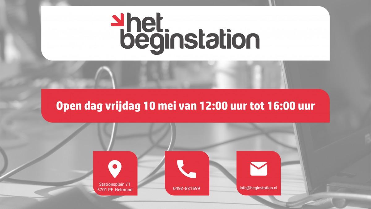 Foto open dag Het Beginstation Helmond
